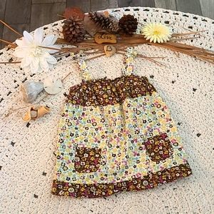 SUMMER BO HO MULTI SIZE 5T DRESS